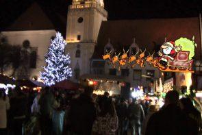 Adventmarkt in Bratislava